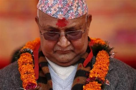 Oli Toda former nepal prime minister oli cautions india against