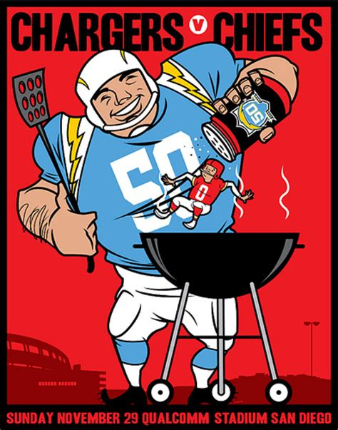chargers kc scrojo chargers vs chiefs afl 50th anniversary qualcomm