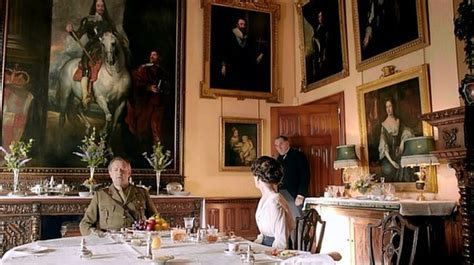 downton abbey how to dine in style without being below historical style downton abbey interiors