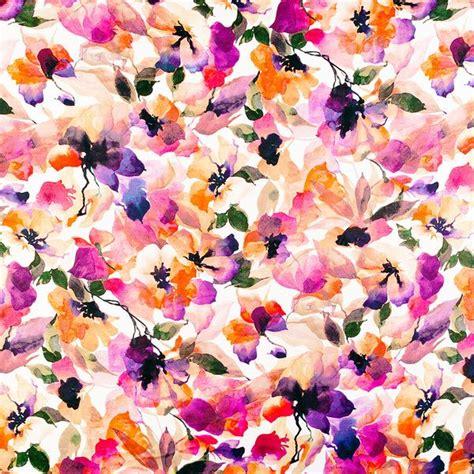 watercolor floral pattern background watercolor floral pattern via wildsunshine prints