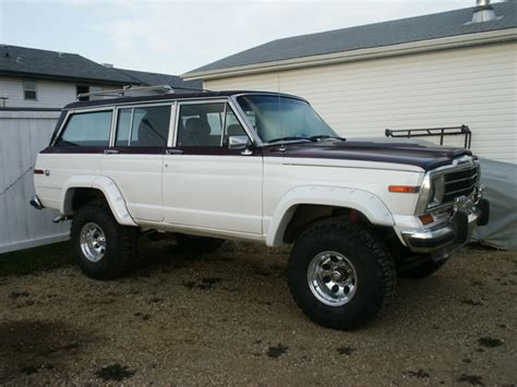 1987 jeep wagoneer twoponchos 1987 jeep grand wagoneer specs photos