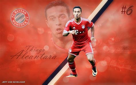 wallpaper barcelona vs bayer munchen thiago alcantara bayern munich 2013 14 wallpaper by
