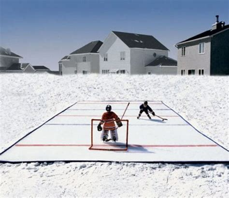 hockey rink in backyard backyard hockey rink play hockey in the backyard