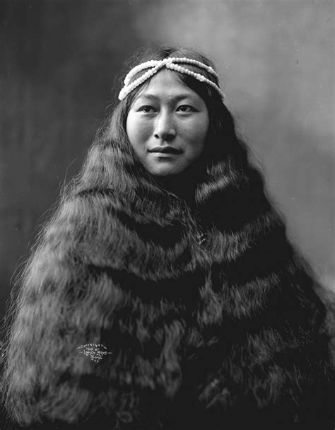 traditional cherokee hair styles inuit woman nowadluk with long hair image no nd 1 56
