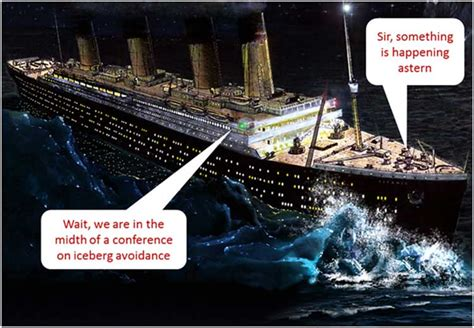 How The Sinking Of The Titanic Changed The World by An Orwellian Climate And The Faustian Bargain