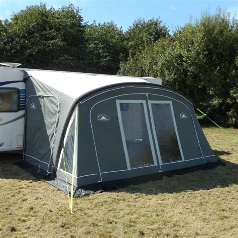 caravan awning groundsheet sunnc globe air 420 caravan awning with groundsheet