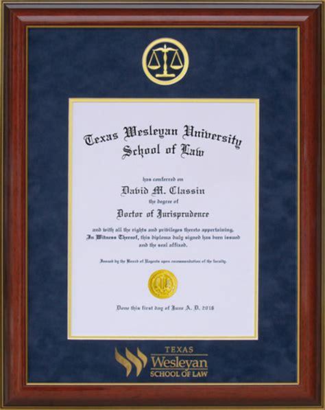 touro university designer diploma frame wordyisms texas wesleyan designer law frame wordyisms