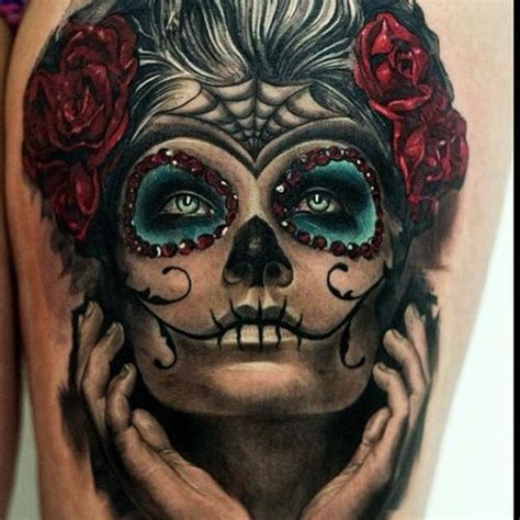 best 25 day of dead tattoo ideas on pinterest arm