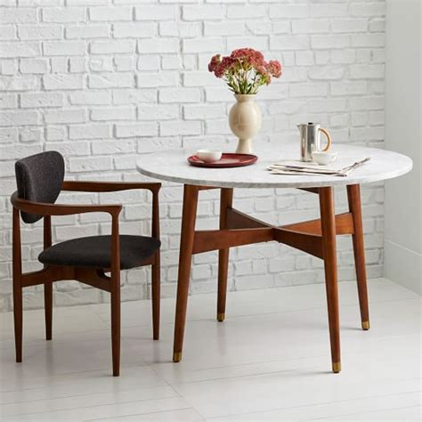 mid century dining table reeve mid century dining table west elm