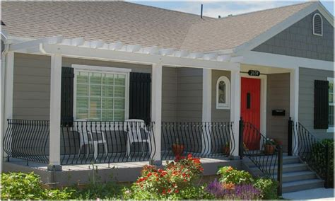 Home Porch Design Photos by Front Porches Design Ideas Bungalow Front Porch Ideas