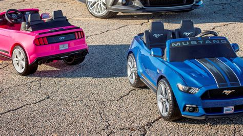 ford s new mustang power wheels comes with freaking