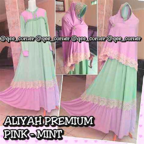 Maxi Dress Polos Payung Busui Gamis Muslim Babat Klok Xl Murah dress cantik dan gamis muslim siput store
