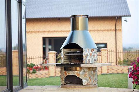barbecue da giardino in pietra barbecue da giardino foto 6 40 design mag