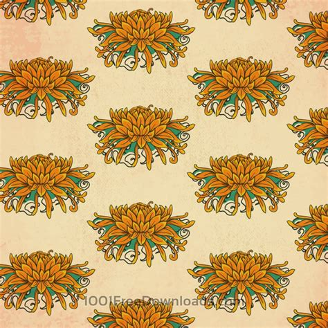 vintage japanese pattern free vectors vintage japanese pattern with flowers