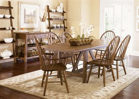 casual dining room sets buy farmhouse casual dining room set by liberty from www