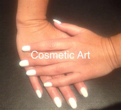 Foto S Gelnagels by Just White Gelnagels Cosmetic