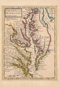 Colonial Virginia Map by From Williamsburg To Wills S Creek The Fry Jefferson Map