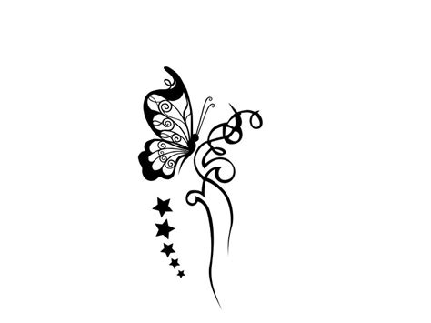 black and white butterfly tattoos designs tattoos book
