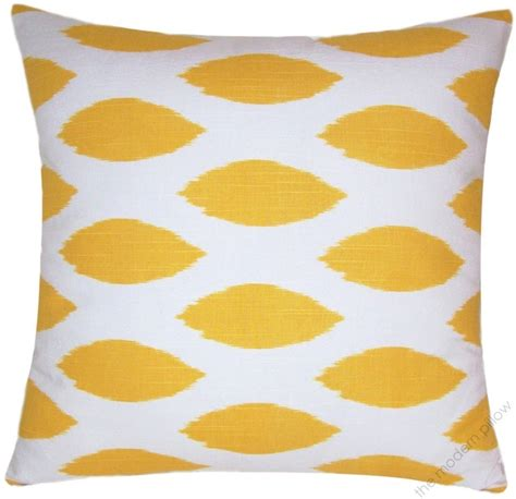 Mustard Yellow Throw Pillows by 20 Quot Sq Mustard Yellow Chipper Decorative Throw Pillow