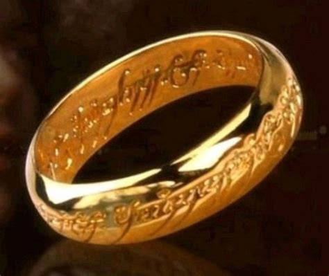 retro style the lord of the rings bilbo s hobbit ring