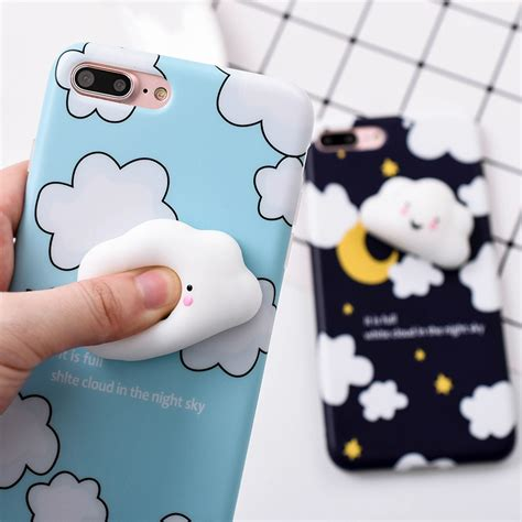 Iphone 7 Lovely Cat Lover Rivet Tassel Soft Casing Cover Bumper coque fundas i6 i6 plus 3d lovely squishy cases for iphone 6 6s 6 plus 6s plus soft silicone tpu