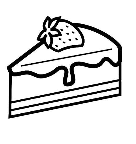 cake slice coloring page strawberry cake slice coloring pages strawberry cake