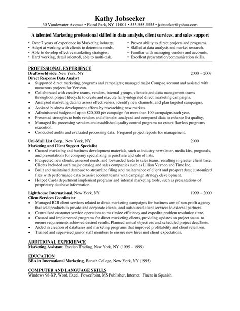 Data Analyst Intern Resume Sle Data Analysis Resume Format 28 Images Data Analyst Resume Exle Business Finance Data