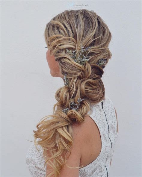 Wedding Hairstyles To The Side Braid by Wedding Hairstyles Side Braid Vizitmir