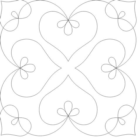 free motion template 1000 ideas about quilting patterns on