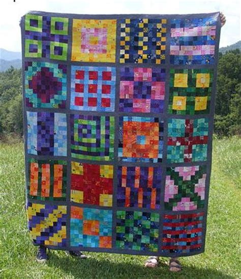 The Rainbow Quilt Pattern by Shades Of The Rainbow Quilt Favequilts