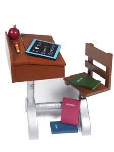 American School Desk Set by 1930 Style School Desk Furniture Accessories For 18