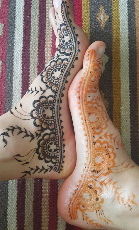 henna tattoo before and after henna diy how to draw your own mehndi zenjoy