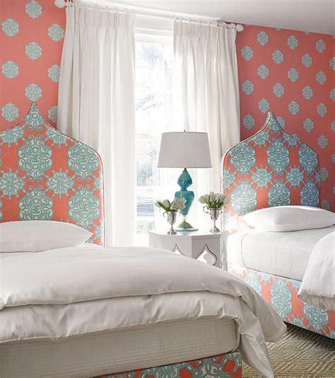 Thibaut Designs Thibaut Wallpaper Transitional Bedroom Thibaut Design