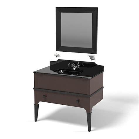 modern deco furniture 3d model suite bathroom