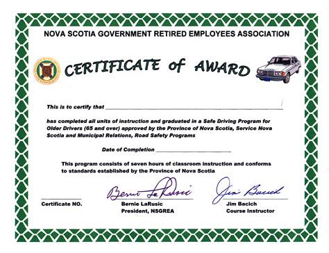 sle of fireman certificate just b cause