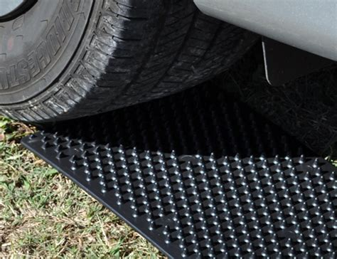 Tire Traction Mats by Portable Tow Truck Emergency Tire Traction Mats The