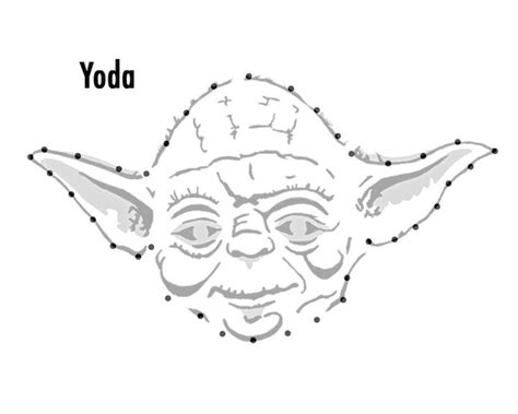 printable yoda template 17 best images about printables on pinterest coloring