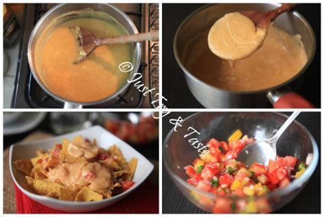 resep nachos  saus keju salsa   taste