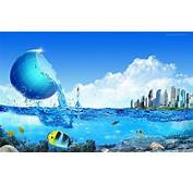 Nature Water 3D Photography HD Wallpaper  StylishHDWallpapers
