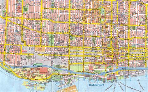 canadian map toronto canada toronto map