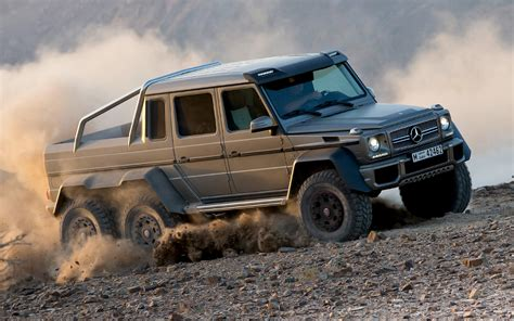 Mercedes 6x6 Truck Mercedes G63 Amg 6 215 6 To Cost 600 000 In Germany