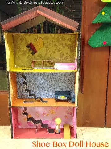 shoe box doll house fun with little ones shoe box doll house tutorial