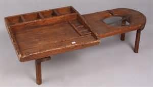 cobbler s bench 3330 antique cobbler s bench 16 quot h x 48 1 2 quot l lot 3330