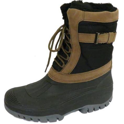 mens snow boots size 12 mens warm winter snow moon mucker wellington wellies boots