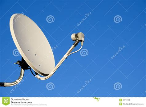 satellite tv antenna stock photo image 34715170