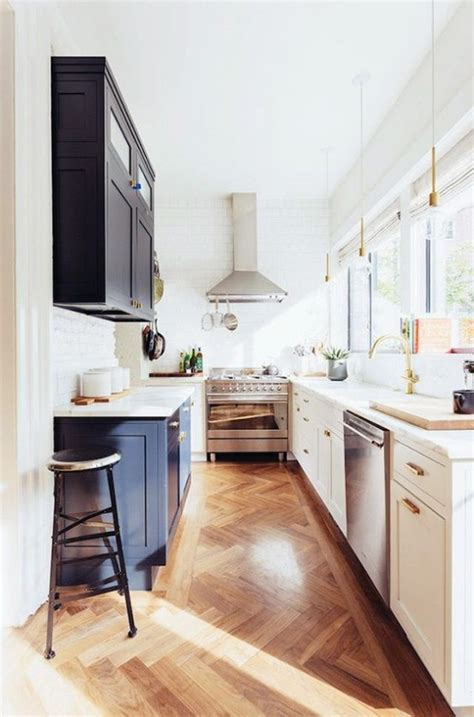small narrow kitchen ideas 31 stylish and functional super narrow kitchen design