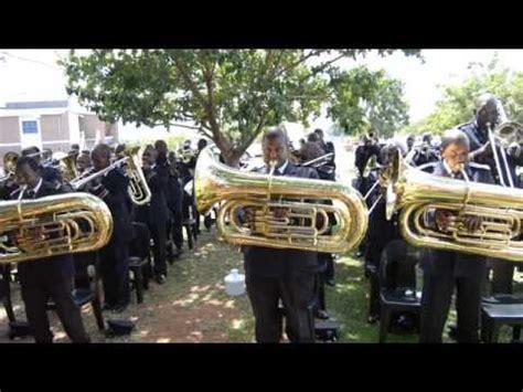 zcc brass band barnabas lekganyane st engenas zion christian church donates classroom youtube
