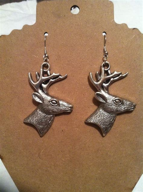 17 best images about deer earrings on