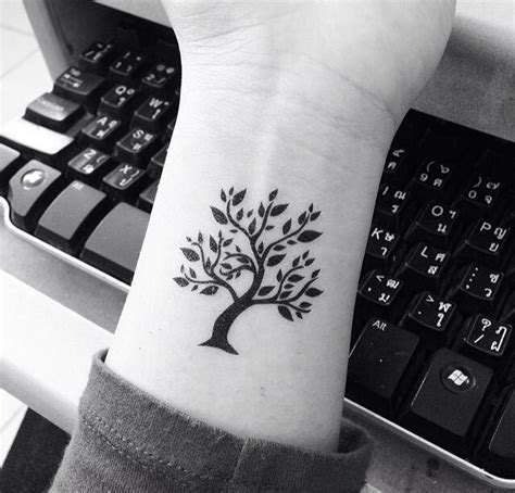 tree of life wrist tattoo 70 tree of tattoos