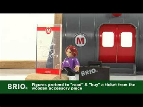 brio underground train brio metro railway set out of the blue toys